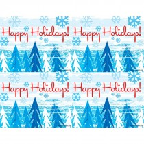 Happy Holidays Laser Cards