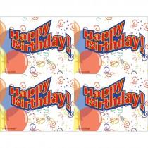 Happy Birthday! Laser Cards