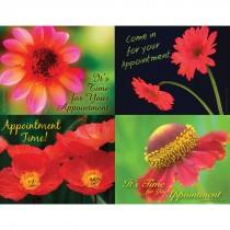 Floral Time Laser Cards