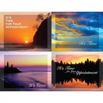 Tranquil Sunset Laser Cards