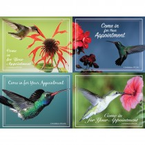 Hummingbirds Laser Cards