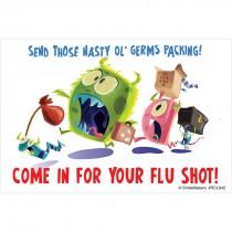 Flu Shot Recall Cards