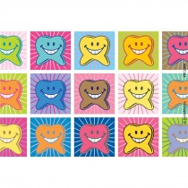 Shining Happy Tooth Recall Cards