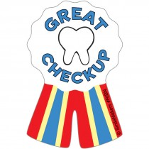 Shaped Dental Ribbon Stickers