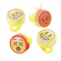 Emoji Light-Up Rings
