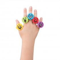 Bright Emoji Rings