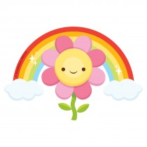 Flower Rainbow Re-Stickable Stickers