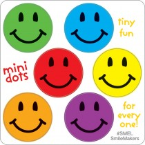 Scented Smiley Faces Stickers