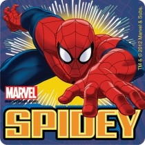 Glow in the Dark Spider-Man™ Stickers