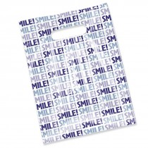 Smile! Scatter Print Bag