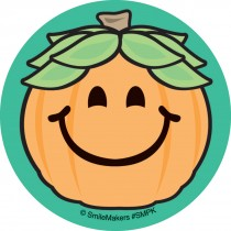 Smiley Guy Jack O Lantern Stickers