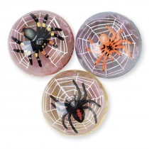 35mm Creepy Spider and Web Bouncing Balls