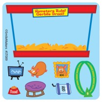 Make Your Own™ Hamster Habitat Stickers