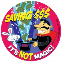 Savings Magic Stickers
