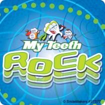 Teeth Rock Stickers