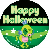 Glow in the Dark Halloween Character Stickers