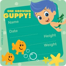 Bubble Guppies I've Grown Stickers