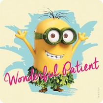 Minions Patient Stickers