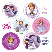 Sofia the First Mini Dot Stickers