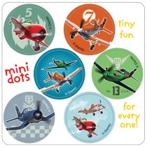Disney Planes Mini Dot Stickers