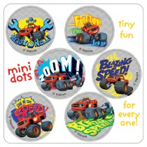 Blaze and the Monster Machines Mini Dot Stickers