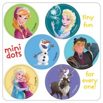 Disney Frozen Mini Dot Stickers