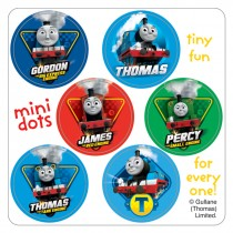 Thomas the Train Mini Dot Stickers