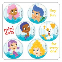 Bubble Guppies Mini Dot Stickers