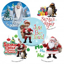 Santa Claus Is Coming to Town Stickers