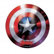Captain America Foil Shield Stickers