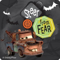 Disney*Pixar Cars Hocus Pocus Halloween Stickers