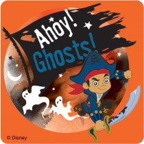 Captain Jake and the Never Land Pirates Halloween Stickers