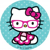 Hello Kitty Glasses Stickers