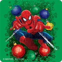 Spider-Man Christmas Stickers