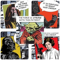 Star Wars: Patient Stickers