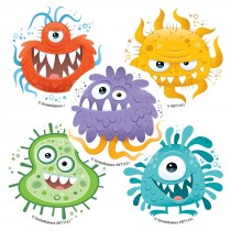 Silly Germs Stickers