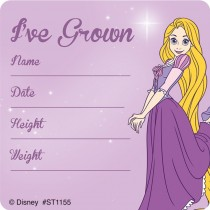 Disney Princesses I've Grown Stickers