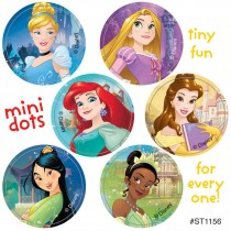 Disney Princess Friendship Mini Dot Stickers