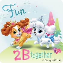 Disney Palace Pets Friendship Stickers