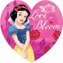 Disney Princess Shaped Valentine's Day Stickers