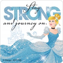 Cinderella Adventure Glitter Stickers
