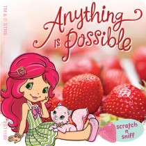Scented Strawberry Shortcake Sticker