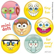 SpongeBob SquarePants™ Characters Mini Dots Stickers