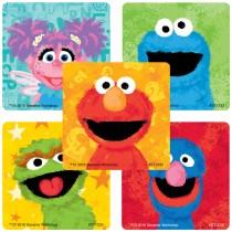 Sesame Street Chalk Stickers