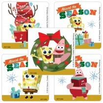 SpongeBob SquarePants Christmas Stickers
