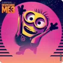 Despicable Me 3 Movie Stickers