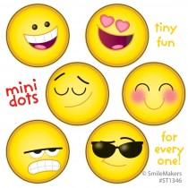 Emoji Mini Dot Stickers