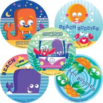 Beach Buddies Stickers