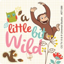 Curious George Adventure Stickers