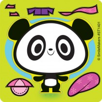 Make-Your-Own™ Panda Stickers